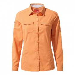 NosiLife Adventure L/S Shirt, soft apricot / Damen