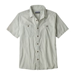 Back Step Shirt, owens atoll blue
