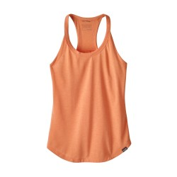 Capilene Cool Trail Bike Tank, peach sherbet / Damen