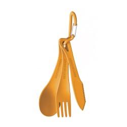 Delta Cutlery Set, orange