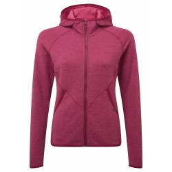 ME Calico Hooded Jacket, cranberry / Damen