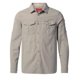 NosiLife L/S Shirt, parchment / Herren