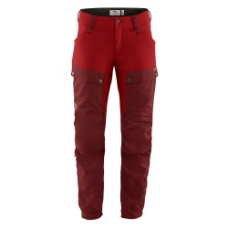 Keb Trousers Curved, ox red/lava / Damen