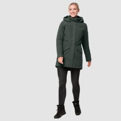 Naha 3in1 Parka, greenish grey / Damen