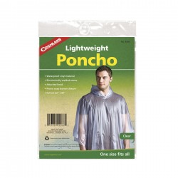 CL Leichtponcho, transparent
