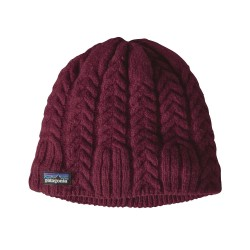 Cable Beanie, light balsamic / Damen
