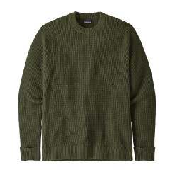 Recycled Wool Sweater, alder green