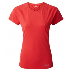 Force Tee, geranium / Damen