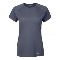 Force Tee, steel / Damen