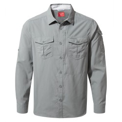 NosiLife Adventure L/S Shirt, cloud grey