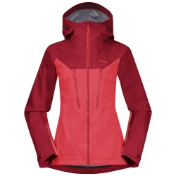 Cecilie 3L Jacket, light dahlia red