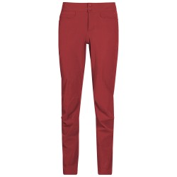 Cecilie Flex Pants, dahlia red melange / Damen