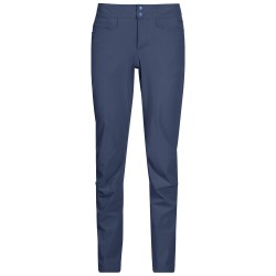 Cecilie Flex Pants, thunder blue melange / Damen