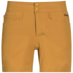 Cecilie Flex Shorts, golden yellow melange / Damen