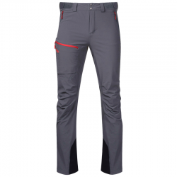Breheimen Softshell Pants, solid dark grey