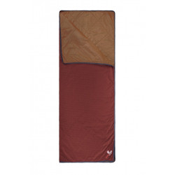 Wellhealth Blanket Wool Home, dark red
