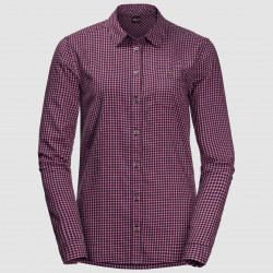 Alin Shirt, midnight blue checks / Damen
