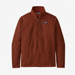 Better Sweater 1/4 Zip, barn red
