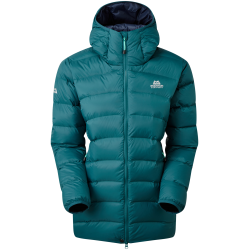 ME Skyline Hooded Jacket, deep teal / Damen