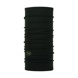 Buff Merino Wool Midweight, solid black