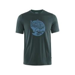 Abisko Wool Fox S/S Shirt, dark navy