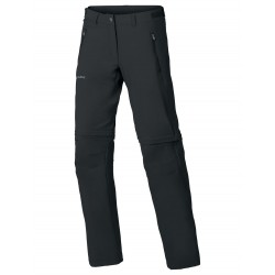 Farley Stretch ZO T-Zip Pants Short, black / Damen