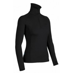 BF260 Tech Top L/S Wm, black / Damen