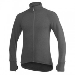 Woolpower Full Zip Jacket 400, grey / Unisex