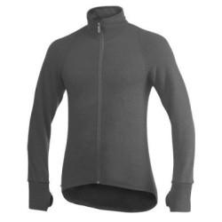 Woolpower Full Zip Jacket 400, grey / Unisex