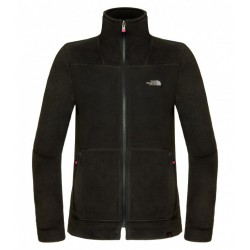 200 Shadow Full Zip Wm, tnf black / Damen