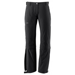 Farley Stretch Capri T-Zip Pants Wm, black / Damen