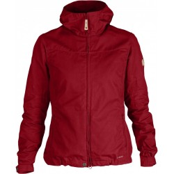 Stina Jacket Wm, deep red / Damen
