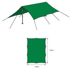 Tarp M 2,9 x 3,5m, green