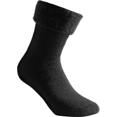 Woolpower Wildlife Socke 600, brushed, schwarz