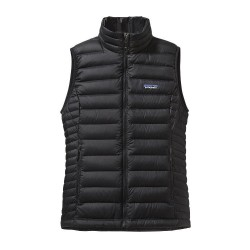 Down Sweater Vest Wm, black / Damen