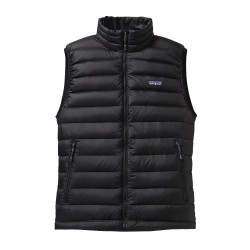 Down Sweater Vest, black / Herren