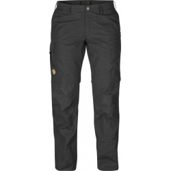 Karla Z/O Trouser Wm, dark grey / Damen