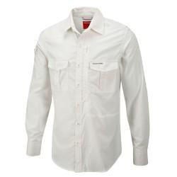 NosiLife L/S Shirt, white / Herren