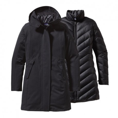 Tres Parka Wm, black / Damen