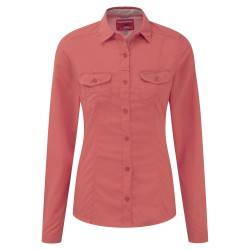 NosiLife Darla L/S Shirt Wm, sunset / Damen