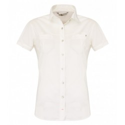 Chipara Shirt Wm, gardenia white / Damen