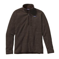 Better Sweater 1/4 Zip, dark walnut / Herren