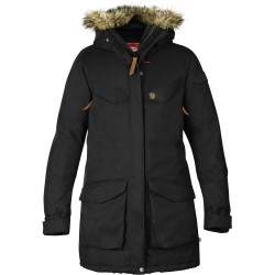 Nuuk Parka Wm, black / Damen