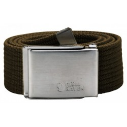 Canvas Belt, dark olive / Herren