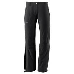 Farley Stretch Capri T-Zip Pants Short, black / Damen