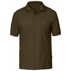 Crowley Piqué Shirt, dark olive