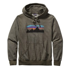 Fitz Roy Banner LW Hooded Sweatshirt, kelp forest / Herren