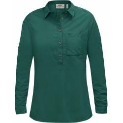 High Coast Shirt LS, copper green / Damen