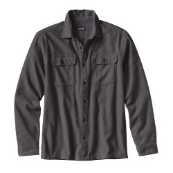 Fjord Flannel L/S Shirt, forge grey