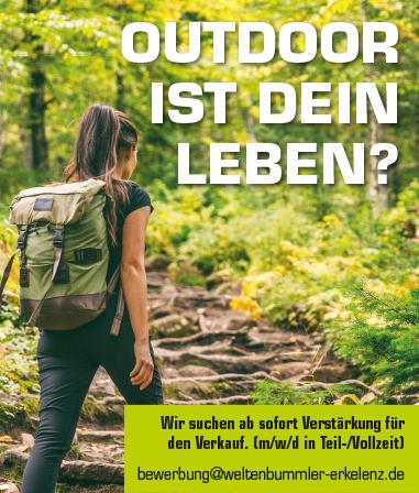 Outdoor ist Dein Leben?